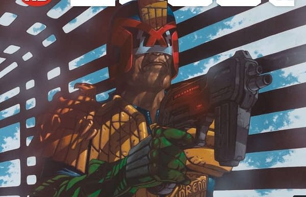 Cover to 2000 AD #2051 by David Millgate