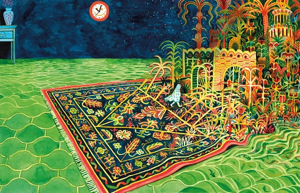Kent Williams, Jim Woodring, The Balbusso Twins, and Beehive Books