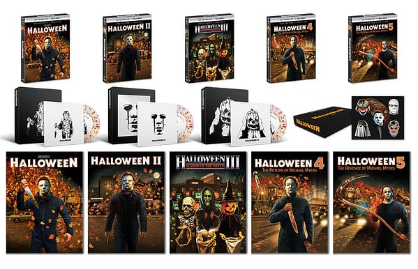 Halloween 1-5 Releasing Yet Again On From Shout Factory In September