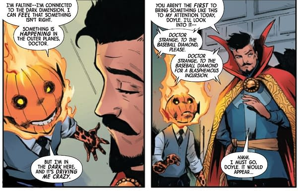 Who Killed Doctor Strange? You Will Know Tjem By Their Teeth