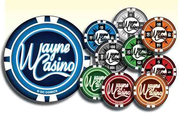 DC Comics To Make Wayne Casino Chips Available In Comic Stores