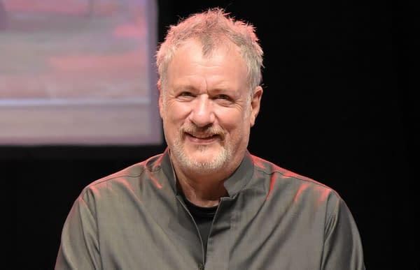 John De Lancie at FedCon 26. Europe's biggest Star Trek Convention, invites celebrities and fans to meet each other in signing sessions and panels. FedCon 26 took place Jun 2-5 2017. (Markus Wissmann / Shutterstock.com)