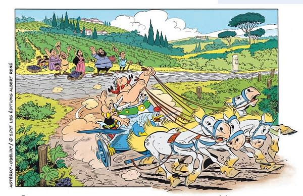 'Asterix' Sets A 5 Million Print Run For Its First Printing