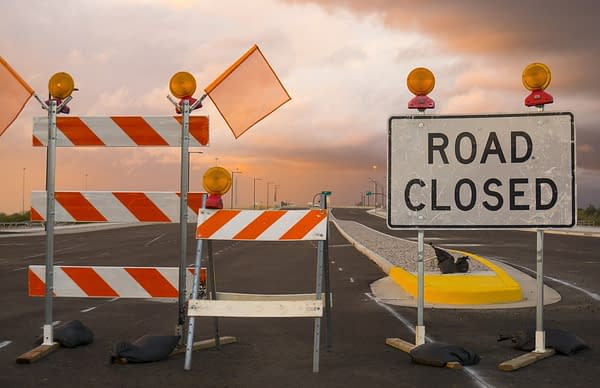 road block shutterstock