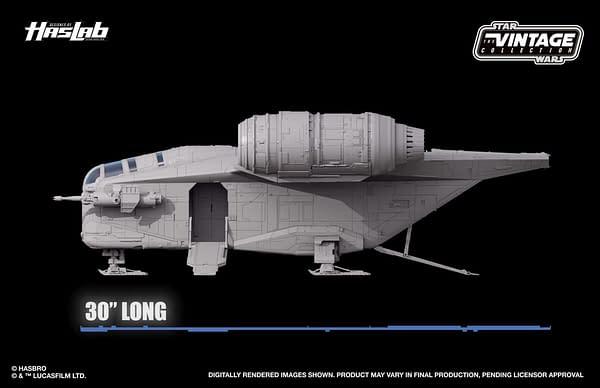 Star Wars The Mandalorian Razor Crest Ship Arrives at Hasbro HasLabs