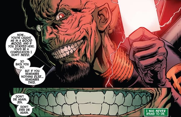 Immortal Hulk Lines Up Brian Banner and The Leader