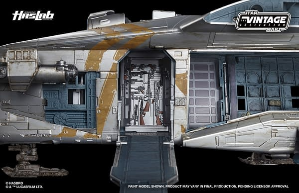 The Mandalorian Razor Crest Hasbro HasLabs Hits 13,000 Backers
