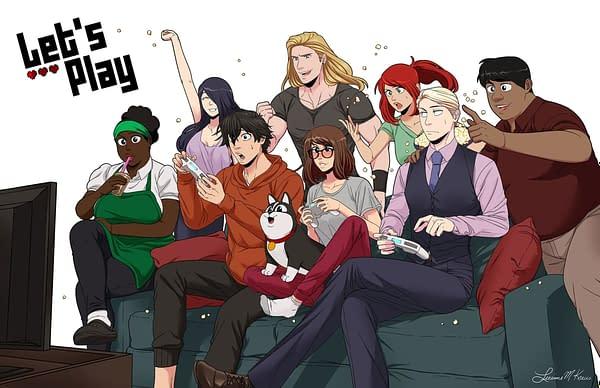 Leeanne M. Krecic's Let's Play Webtoon Comic Now Live-Action TV Show