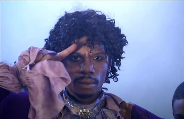 Chappelle's Show: Eddie Murphy Reflects Basketball Game vs Prince