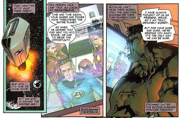 One Last Immortal Hulk Marvel Continuity Dive With The Fantastic Four