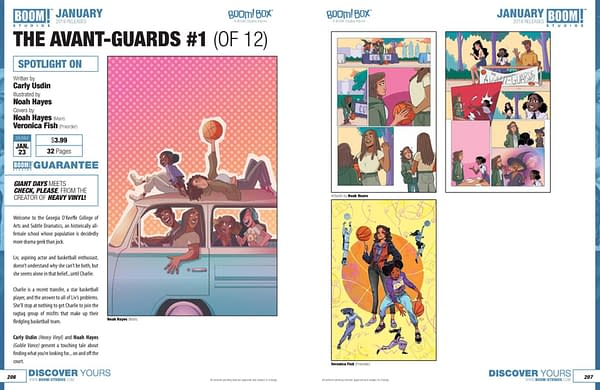 Full Catalog For BOOM! Studios January 2019 Solicitations – Brings Buffy to the Yard With the Avant-Guards