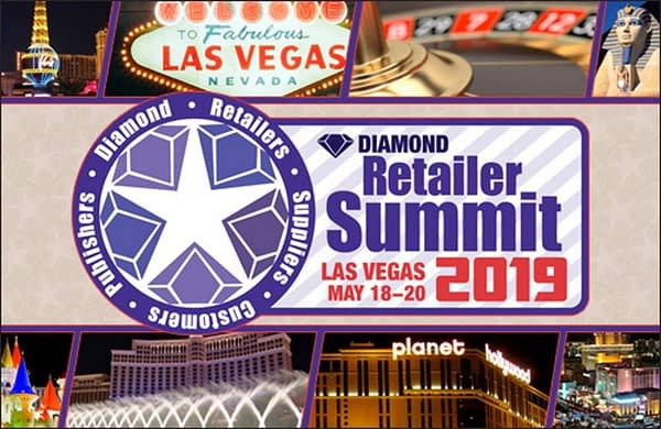 Diamond Summit Retailers to Tour Las Vegas Comic Shops