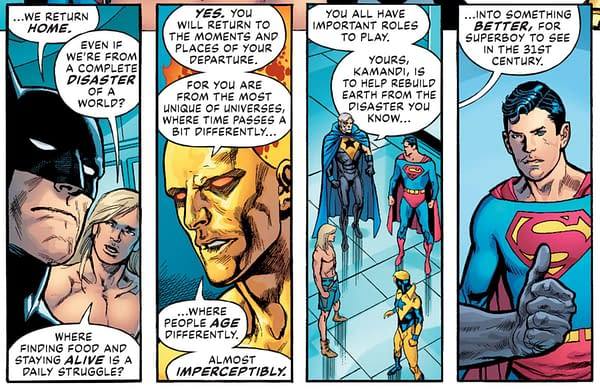 DC's Linearverse Slices the Whole Sort Of General Mish Mash (Spoiler)