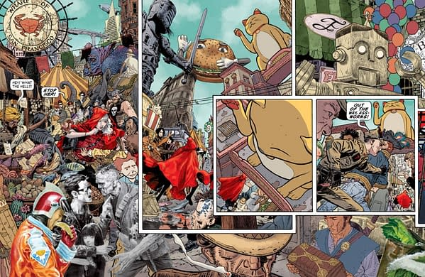JH Williams III's Echolands Finally Comics To Comic Shops In August