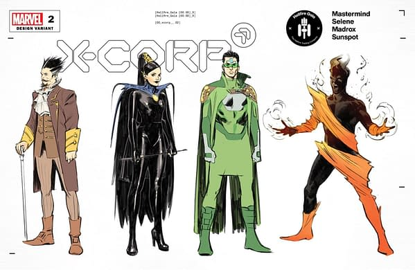 Cover image for X-CORP #2 FOCHE CHARACTER DESIGN VAR