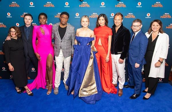 'Captain Marvel' Cast Talk Joining Marvel Studios Sandbox in New Featurette