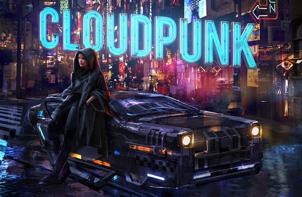 Cloudpunk has been on PC since April, courtesy of Merge Games.