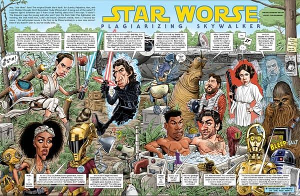 DC Doesn't Want MAD Magazine Film/TV Parodies Now? That's Claptrap!