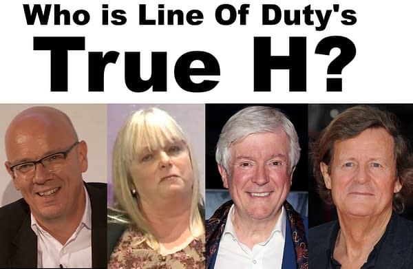 The Real Four Identities Of Line Of Duty's H Revealed By Private Eye?