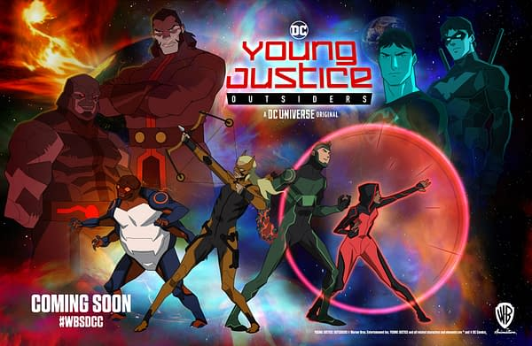 Young Justice: Outsiders Rises with a New Trailer at SDCC 2018