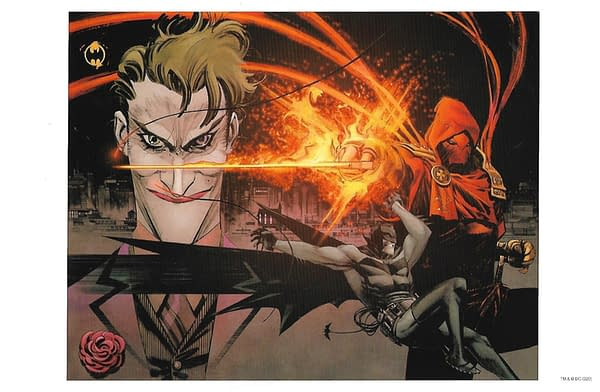 Batman Curse Of The White Knight HC Barnes & Noble Exclusive Lithograph