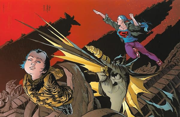 Dark Knight Returns The Golden Child HC Barnes & Noble Exclusive Lithograph