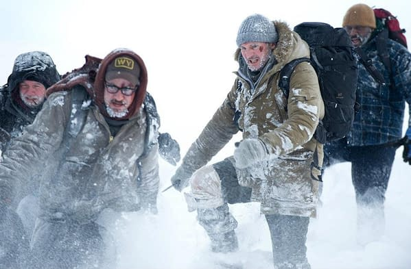 """Liam """"Fights With Wolves"""" Neeson Gets His Glass Knuckles On In New Still From The Grey – UPDATE"""