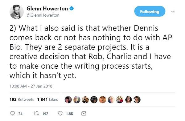 """Glenn Howerton Returning to FXX's It's Always Sunny in Philadelphia Season 13 for """"Some Episodes"""""""