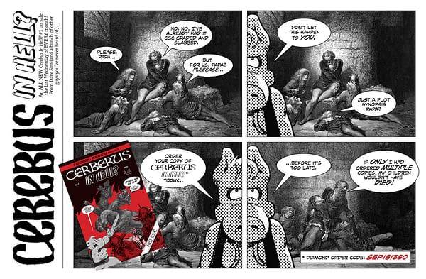 Cerberus In Hell #1 Is Not Cerebus In Hell #1, Official