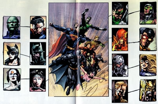 The Deathmatch Planning Of Justice League Of America #1 (SPOILERS)