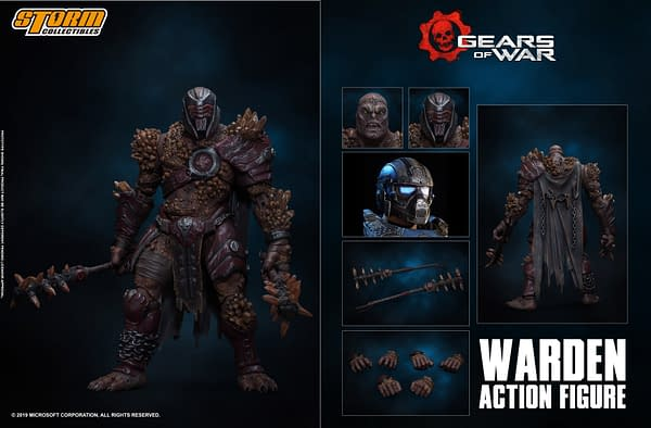 Gears of War 5 Warden Wants Blood with Storm Collectibles
