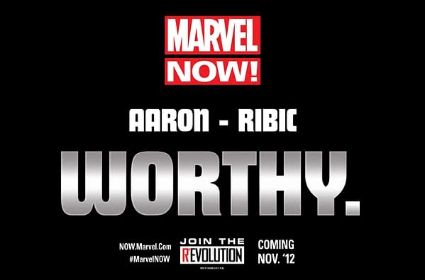 Jason Aaron And Esad Ribic Relaunch Thor For Marvel Now
