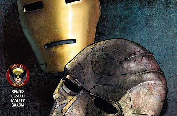 The Invincible Iron Man #598 cover by Alex Maleev