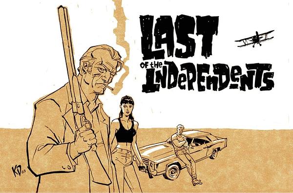 Image Comics to Collect Kieron Dwyer's Lowest Common Denominator
