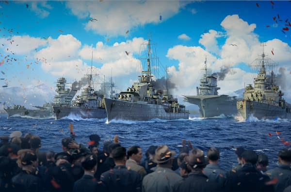 World Of Warships Navy Parade