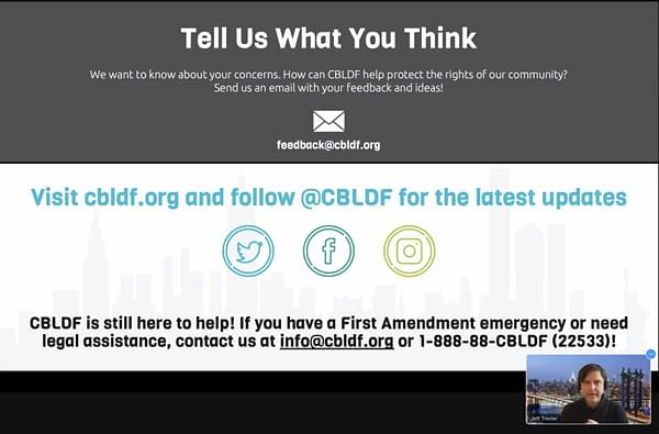 CBLDF - Defending Whistleblowers, Challenging Algorithms and Brexit?