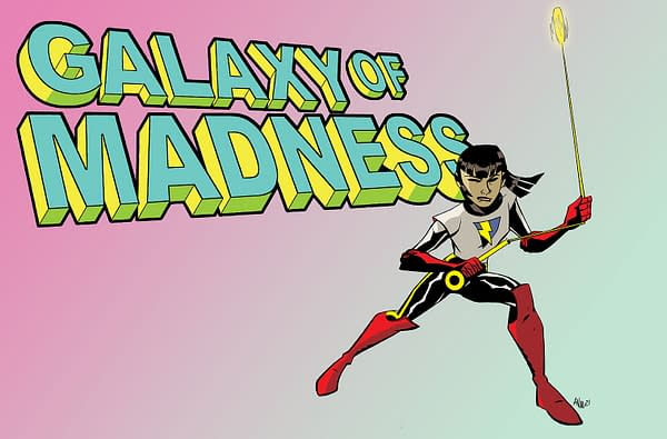 Magdalene Visaggio & Michael Oeming Launch Galaxy of Madness On Patreon