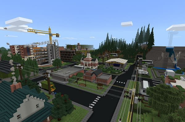 Will you be able to run this city proper under these guidelines? Courtesy of Mojang.