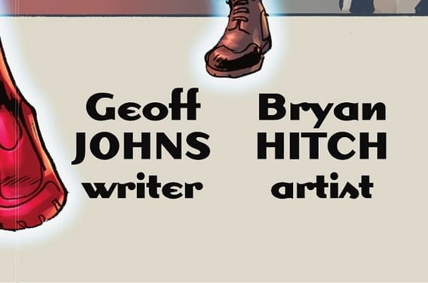 DC Comics Teases A New JSA Comic By Geoff Johns and Bryan Hitch