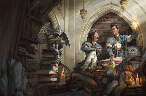A look at the official artwork for Strixhaven: Curriculum Of Chaos, courtesy of Wizards of the Coast.
