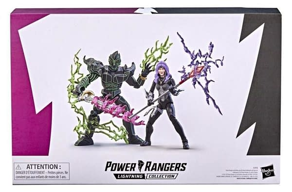 Power Rangers In Space Ecliptor and Astronema Coming From Hasbro