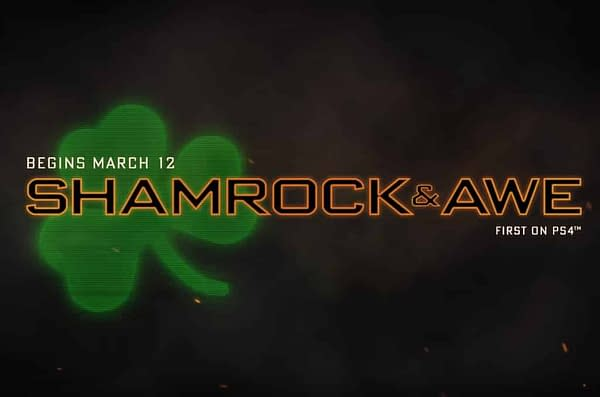 Call of Duty: Black Ops 4 Announces a St. Patrick's Day Event