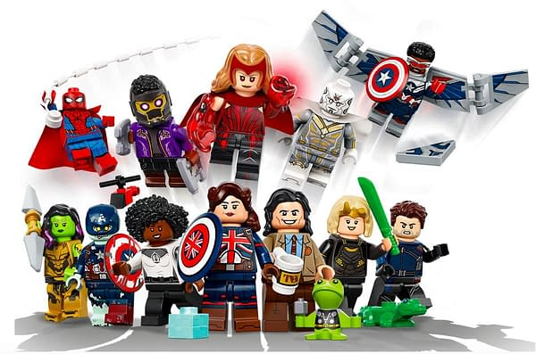 LEGO Unveils Marvel Studios Disney+ Blind Bag Mini-Figures