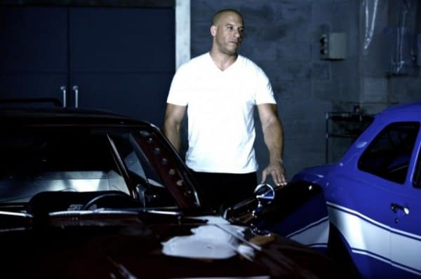 The Rock, Vin Diesel And Paul Walker Get Serious In New Fast 6 Photos