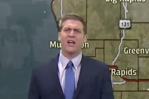 Grand Rapids Weatherman Goes on Viral Rant