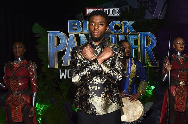 Chadwick Boseman Talks New 'Popular Film' Oscars Category and Black Panther