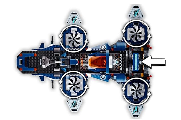 New Marvel LEGO Set Lets You Build Your Own the SHEILD Helicarrier