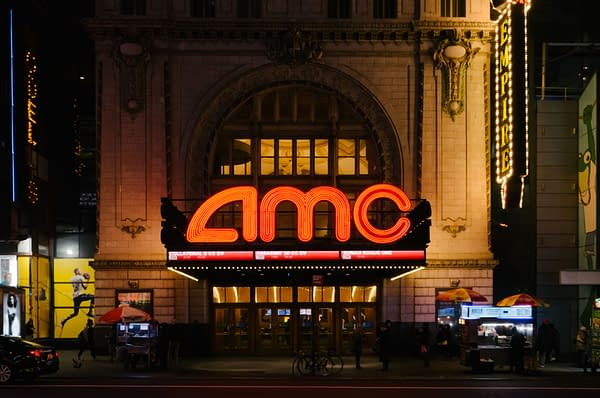 New York City, USA - Jan. 5, 2017: View of AMC Empire 25 theater on 42nd Street, in Manhattan, at night (Image: Mark Zhu / Shutterstock.com)