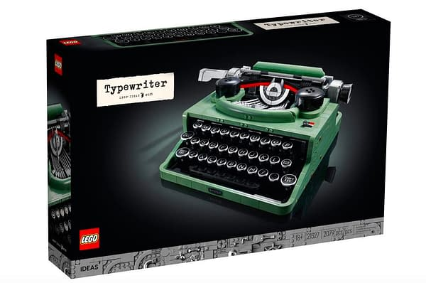 Build Some History With The LEGO Creator Typewriter Building Kit