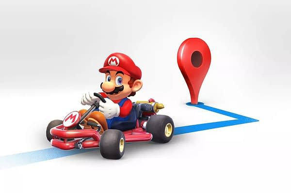 Expect To See Mario Kart on Google Maps on March 10th